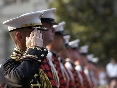 Pvt. Bone Spurs Wants a Parade