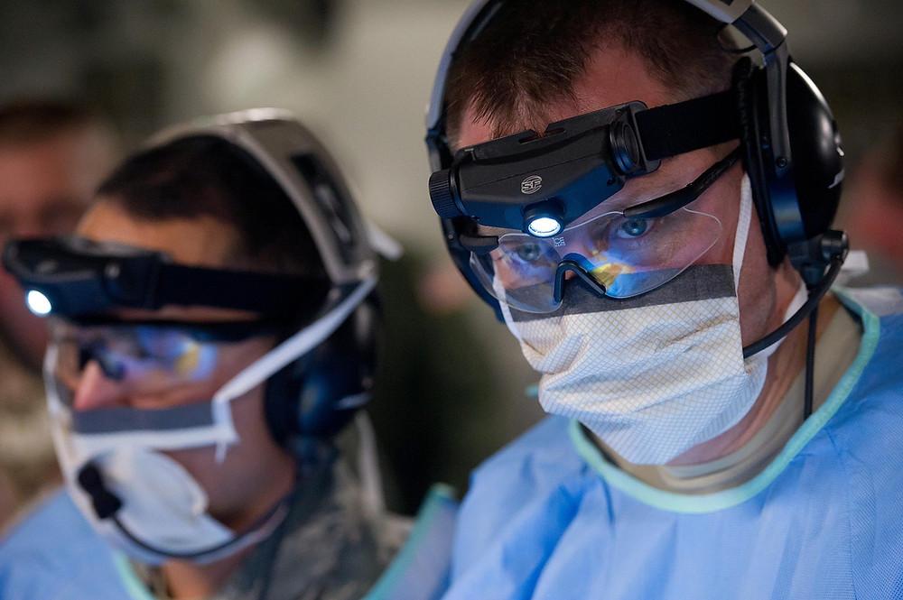Doctors perform surgery