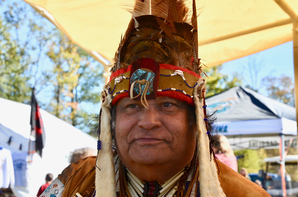 """Harold """"Buster"""" Hatcher, Chief of the Waccamaw Indian People"""