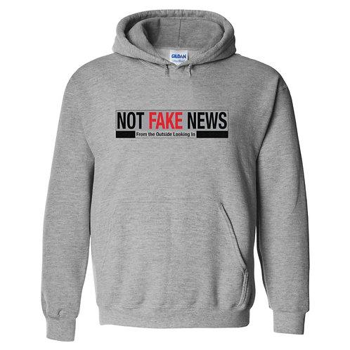 Not Fake News  Gildan® DryBlend™ Hooded Sweatshirt