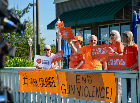 Wear Orange Demonstration for Gun Violence Awareness