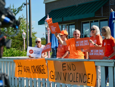 Wear Orange Demonstration for Gun Violence Awareness