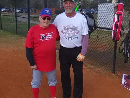 Senior Softball:  Tough on 'the Boys'