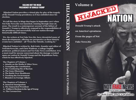 Hijacked Nation - Volume 2 Published