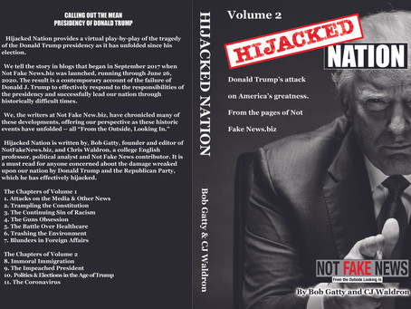 Hijacked Nation - Volume 2 Published