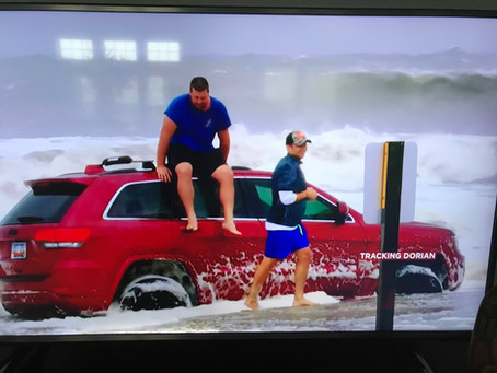 Hurricane Dorian Sideswipes Myrtle Beach