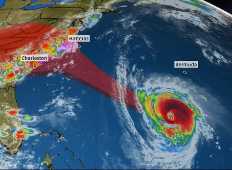 Hurricane Florence: This is Getting Scary  --Update