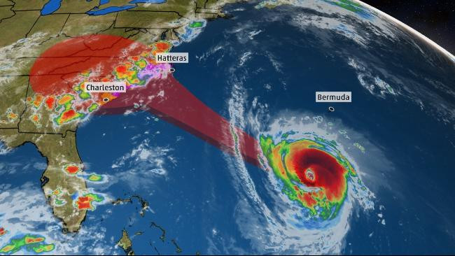 Hurricane Florence bears down on the Carolinas -- and us.