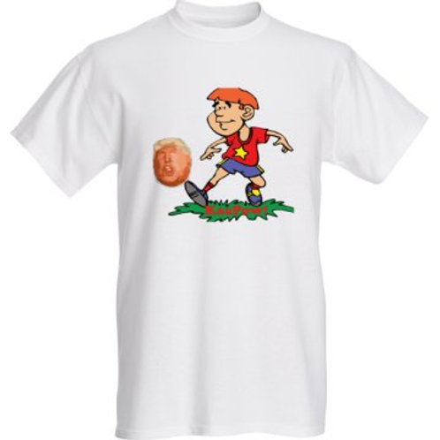 KaaPow! Men's basic t-shirts: classic, full color, white