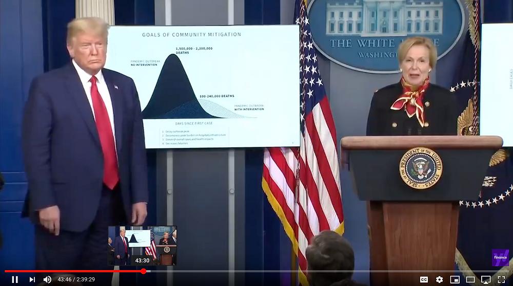 Trump coronavirus briefing