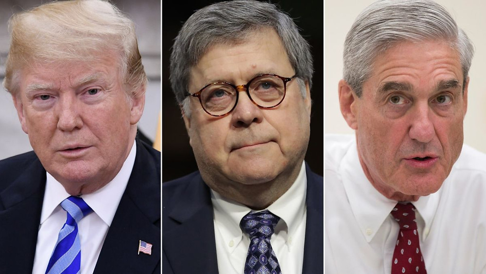 President Trump, Attorney General Barr, Special Counsel Mueller