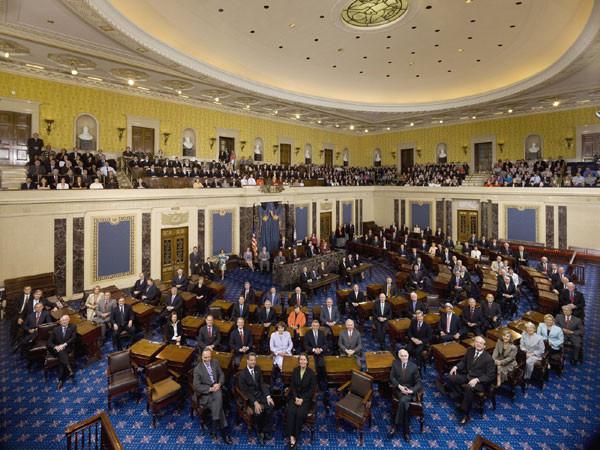 U.S. Senate, 110th Congress. credit: U.S. Senate Photographic Studio