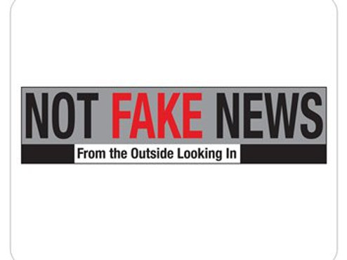 Not Fake News Mouse Pad