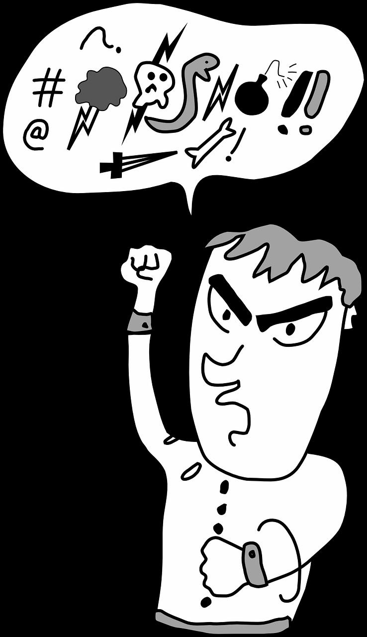 cartoon of bad boy