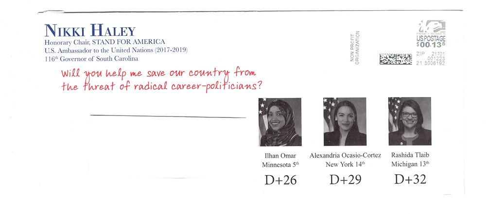 Haley envelope