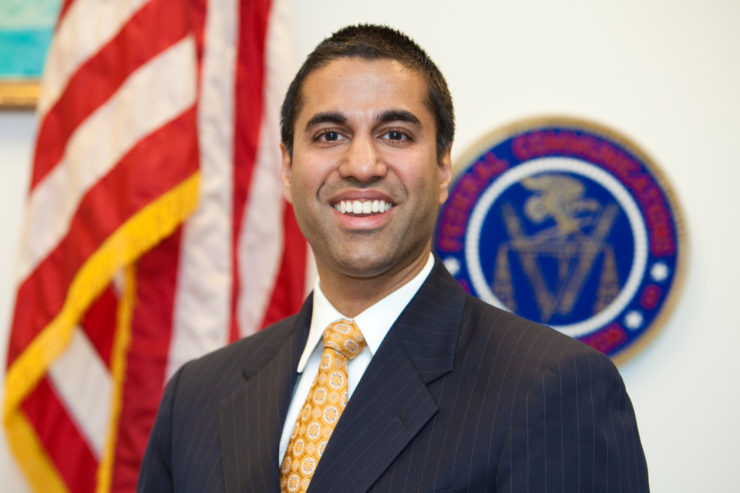 "FCC Chairman Ajit Pai had promised to ""take a weed whacker"" to net neutrality rules."