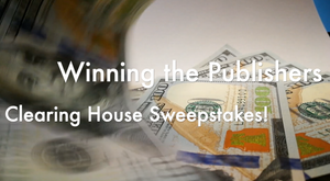 Video about getting a check from Publishers Clearing House