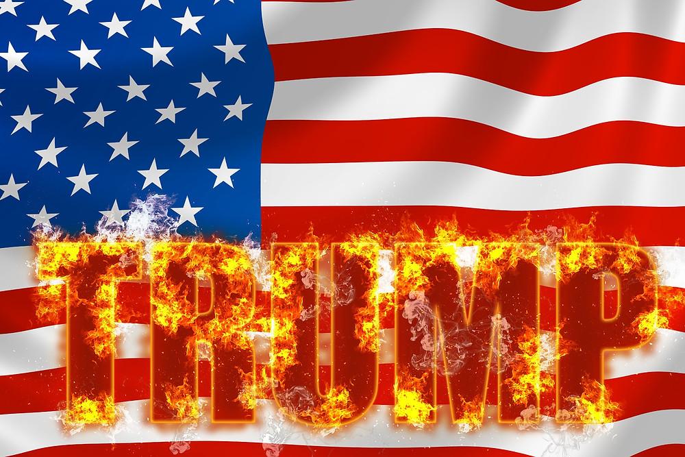 Donald Trump: Arsonist-in-Chief