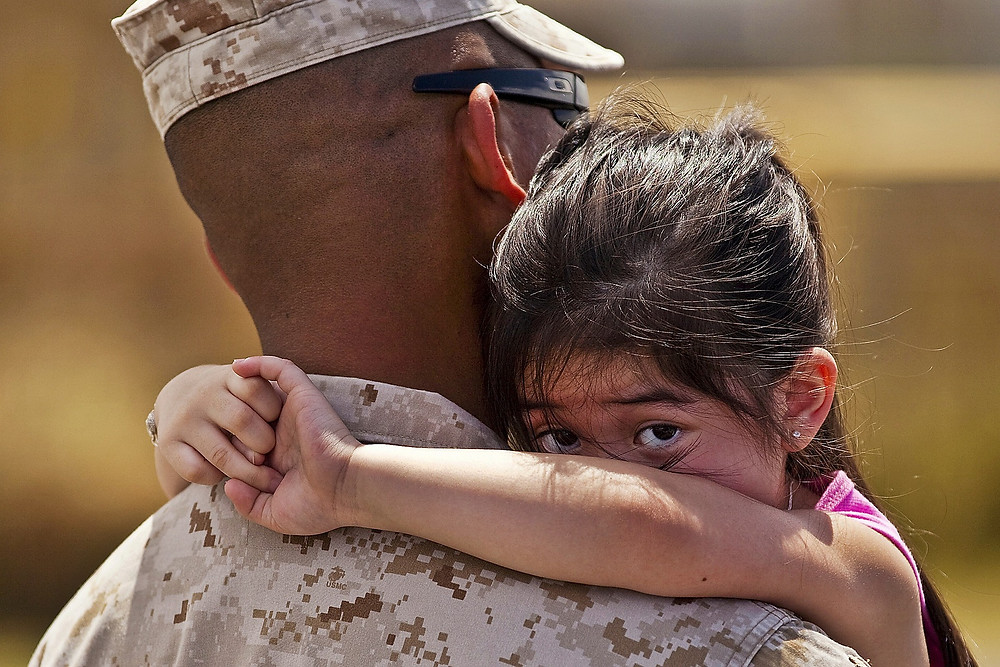 Nearly 12,000 military families face potential deportation concerns under Trump policies.