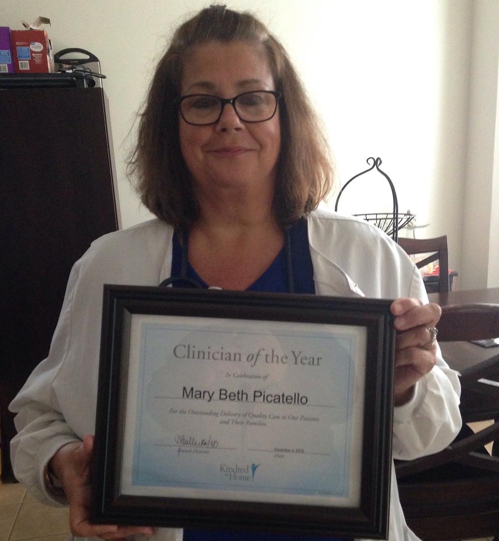 award winning nurse