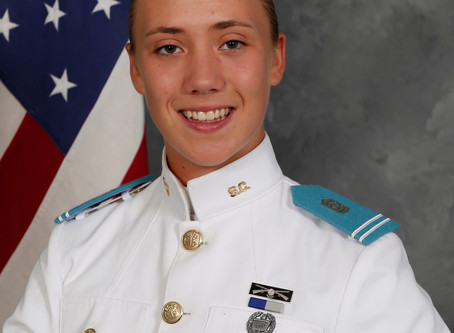 Sarah Zorn is First Female Cadet Commander at The Citadel