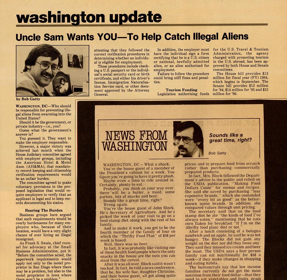 Articles by Bob Gatty