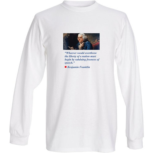 First Amendment Collection Fruit of the Loom® heavy cotton HD™ long sleeve T