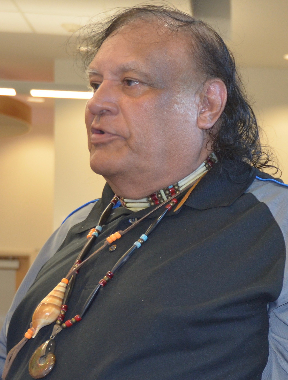 Waccamaw Chief Harold Hatcher. Photo by Bob Gatty