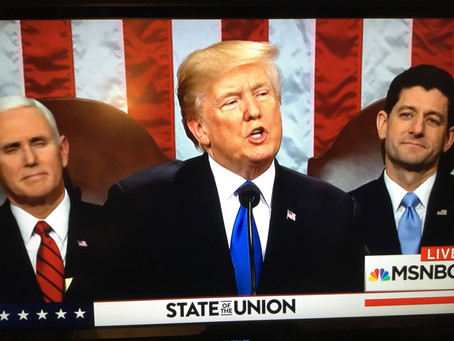 Trump SOTU: Platitudes of Divisiveness