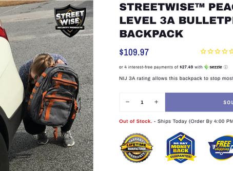 Bulletproof Back-to-School Backpacks