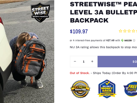 Bulletproof Back-to-School Backpacks