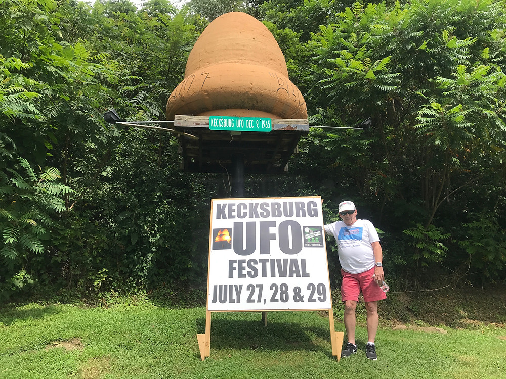 Photo taken at last year's Kecksburg UFO Festival