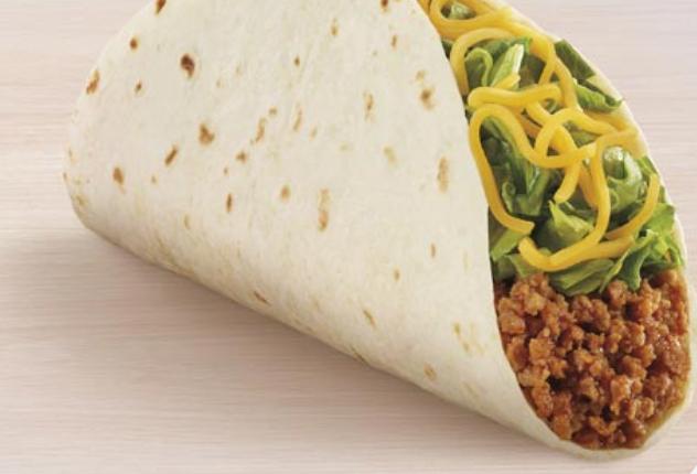 Taco Bell taco.