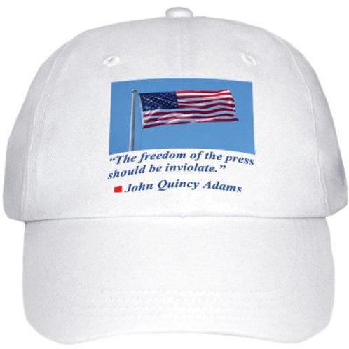 First Amendment Cotton Baseball Cap