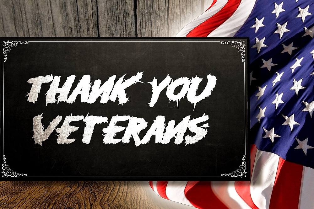 Thank you veterans for your service to our country.
