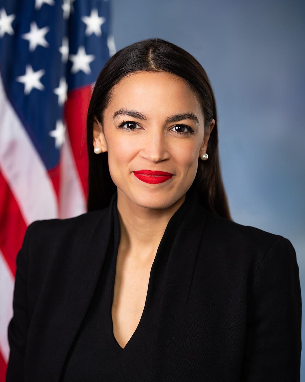 Rep. Alexandria Ocasio-Cortez official photo from U.S. House of Representatives