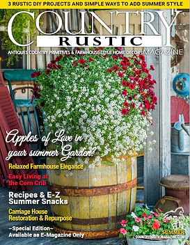 Country Rustic Magazine Summer 2020 Cove