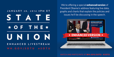 Branding for President Obamas Final State of the Union Address