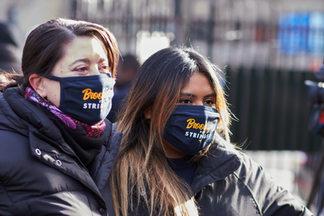 Brooklyn for Stringer face masks.