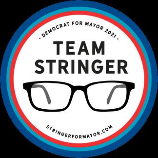 Team Stringer Sticker