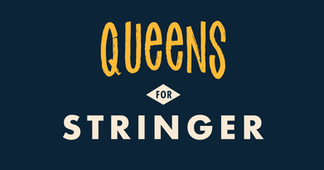 Queens for Stringer branding