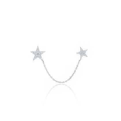 עגיל DOUBLE STAR