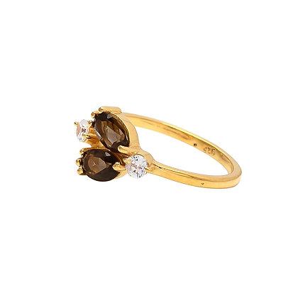 טבעת טופז