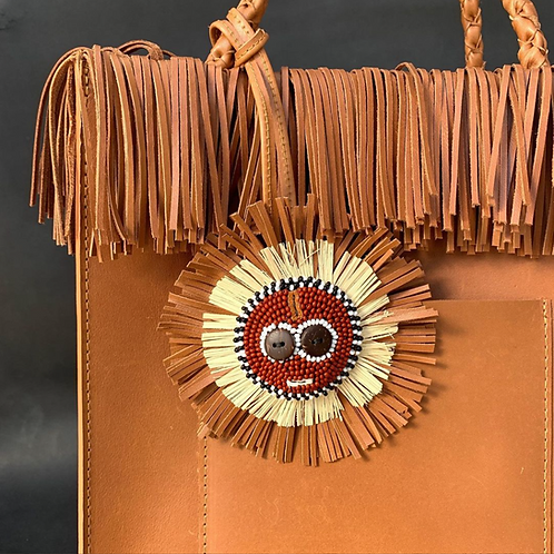 Dahomey Leather Handbag