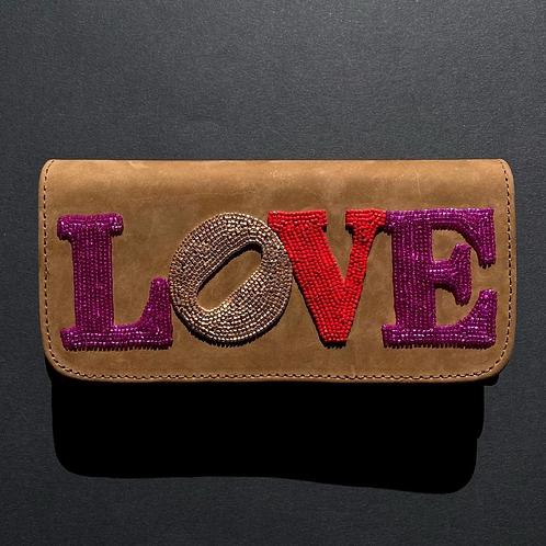 Nude Love Folded Wallet