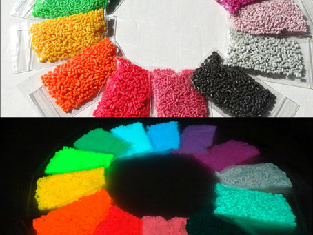 New!! Glow in the dark clay polymer V 3.0, 13 colours now available