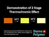 2 Stage Thermochromic Masterbatch