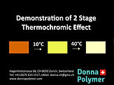 2 Stage Thermochromic Masterbatch