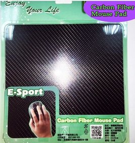 Carbon mouse pad