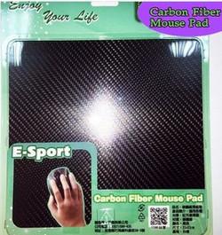 Carbon mouse pad